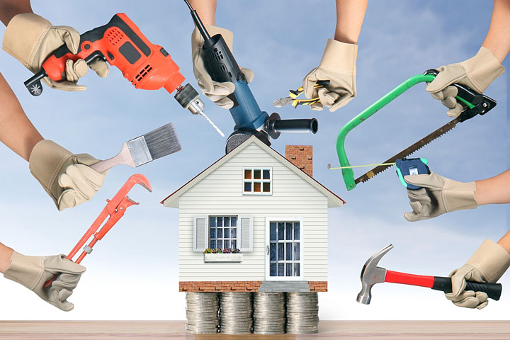 Make your home brand new with these five easy home improvement projects