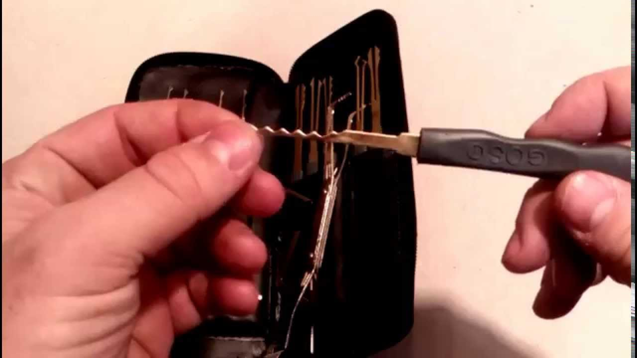 Choose The Best Lock Picking Toolkit